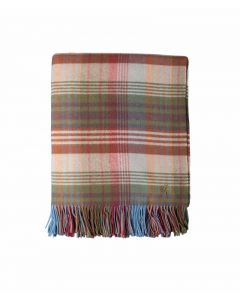 Mulberry Home Ancient Tartan -torkkupeitto