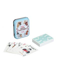 Gentlemen's Hardware Dog Lover's Playing Cards pelikortit metallirasiassa.